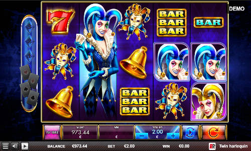 Twin Harlequin slot