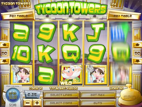 Tycoon Towers videoslot