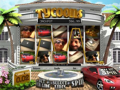 Tycoons free slot