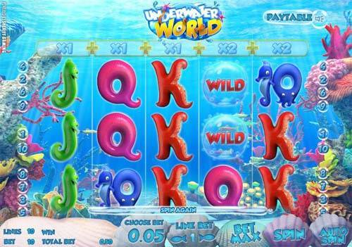Underwater World slot