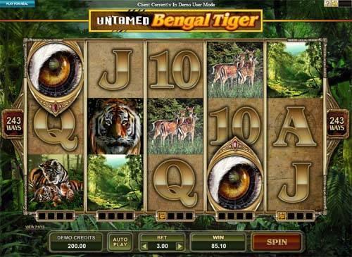 Untamed Bengal Tiger slot