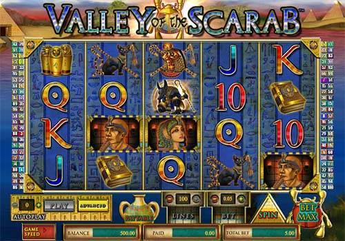 Valley of the Scarab casino slot