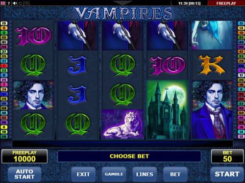 Vampires videoslot