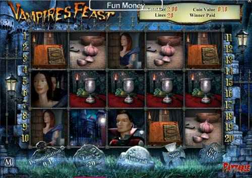 Vampires Feast casino slot