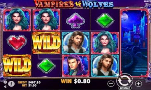 Vampires vs Wolves videoslot