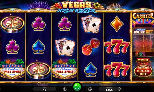 Vegas High Roller videoslot