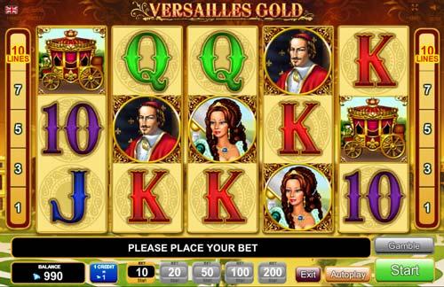 Versailles Gold videoslot