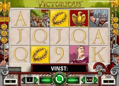 Victorious videoslot