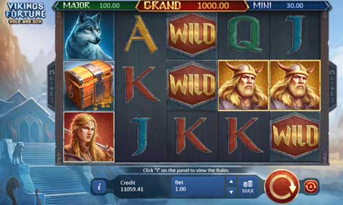 Vikings Fortune Hold and Win videoslot