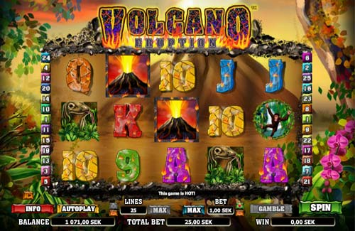 Volcano Eruption slot