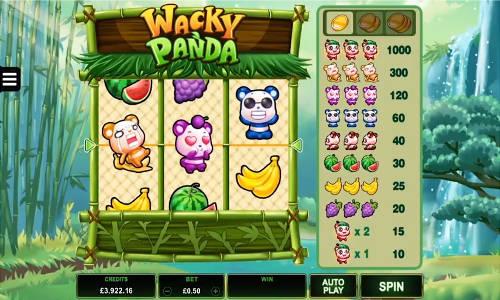 Wacky Panda videoslot