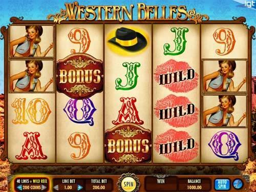 Western Belles videoslot