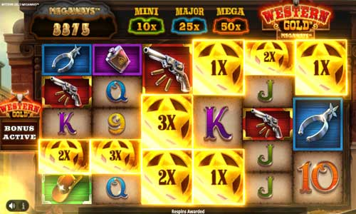 Western Gold Megaways slot