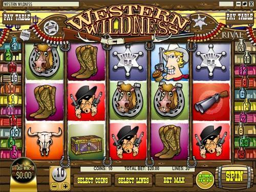 Western Wilderness slot