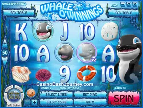 Whale O Winnings videoslot