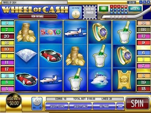 Wheel of Cash videoslot