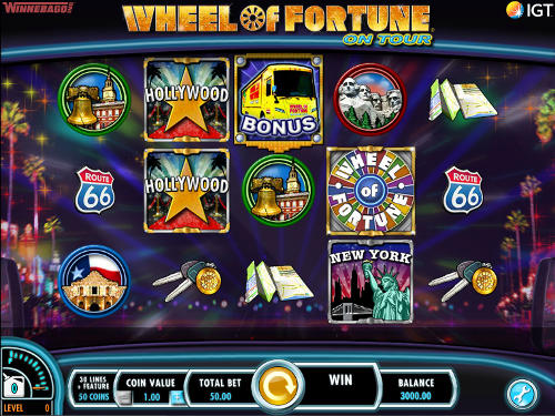 Wheel of Fortune On Tour slot