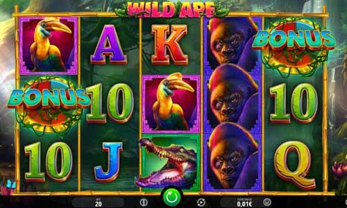Wild Ape videoslot