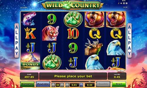 Wild Country slot