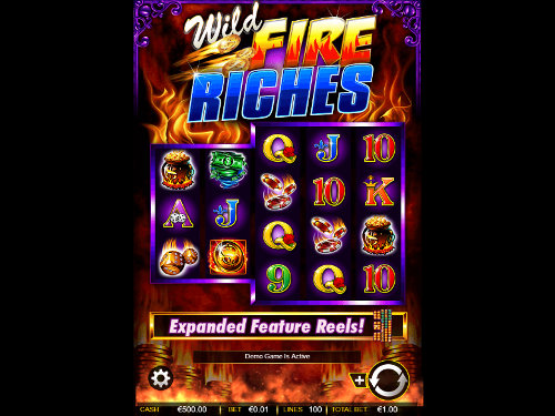 Wild Fire Riches videoslot