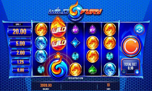 Wild Fury Jackpots slot