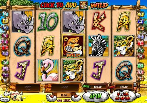 Wild Gambler videoslot