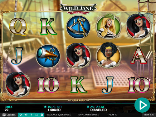 Wild Jane videoslot