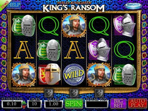 Wild Knights Kings Ransom videoslot