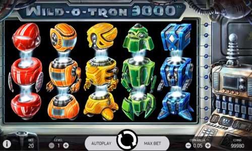 Wild O Tron 3000 videoslot
