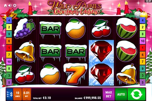Wild Rubies Christmas Edition slot