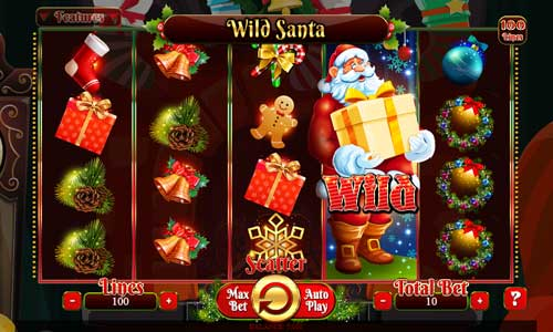 Wild Santa videoslot