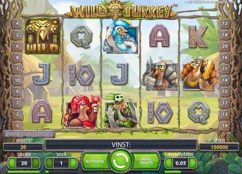 Wild Turkey free slot