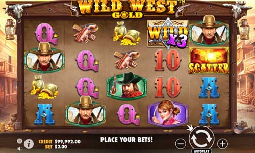 Wild West Gold videoslot