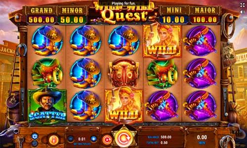 Wild Wild Quest videoslot