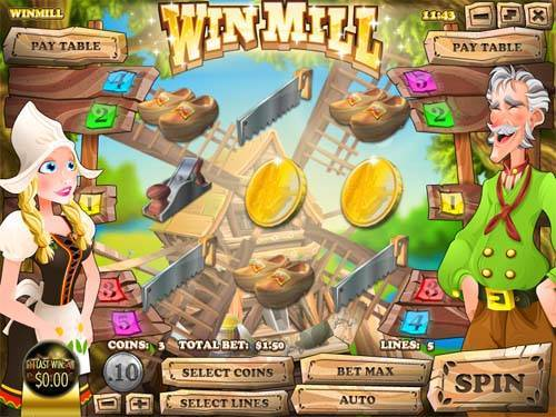 Win Mill slot