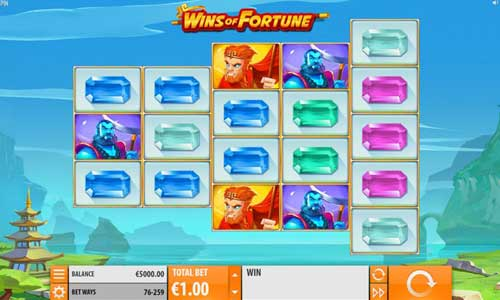 Wins of Fortune videoslot