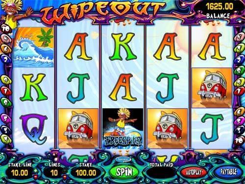 Wipeout casino slot