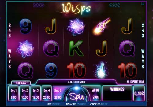 Wisps free slot