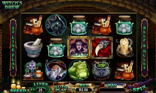 Witchs Brew free slot