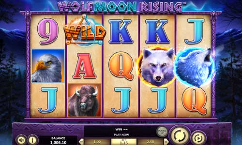 Wolf Moon Rising videoslot