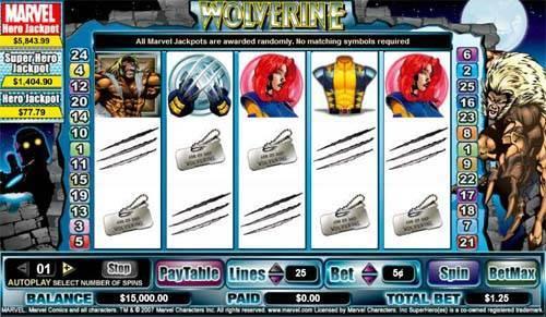 Wolverine videoslot