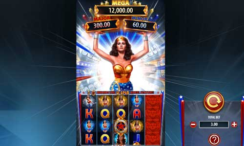 Wonder Woman Bullets and Bracelets videoslot
