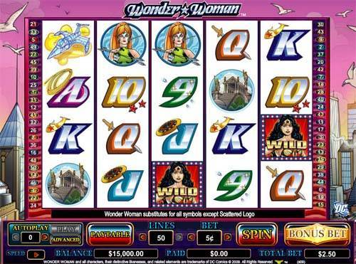 Wonder Woman casino slot