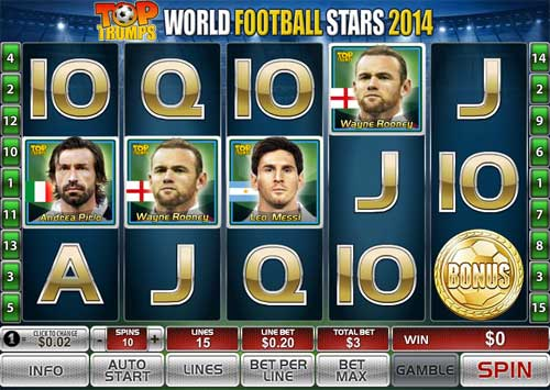World Football Stars 2014 videoslot