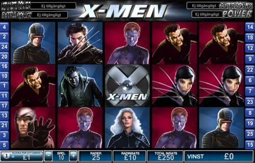 X-Men videoslot