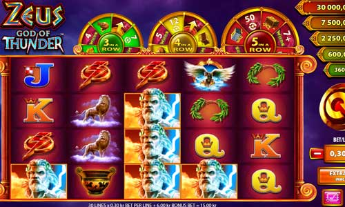 Zeus God of Thunder free slot
