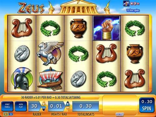 Zeus videoslot