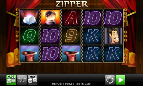 Zipper free slot