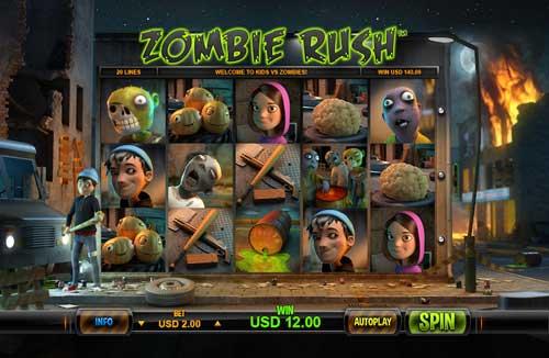Zombie Rush videoslot