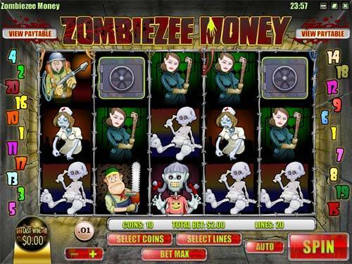 Zombiezee Money videoslot